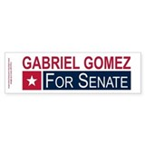 Elect Gabriel Gomez Car Sticker