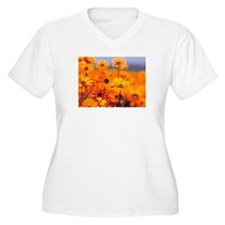 test flower Plus Size T-Shirt