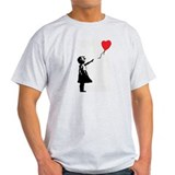 Banksy - Little Girl with Ballon T-Shirt