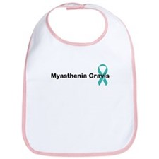 Myasthenia Gravis Awareness Bib