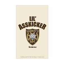 Walking Dead Lil Asskicker Sticker