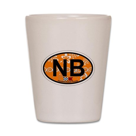 Navarre Beach - Oval Design Shot Glass