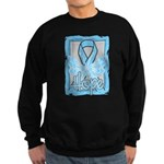 Hope Butterfly Prostate Cancer Sweatshirt (dark)