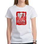 Hope Butterfly Oral Cancer Women's T-Shirt
