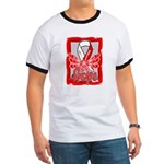 Hope Butterfly Oral Cancer Ringer T