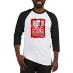Hope Butterfly Oral Cancer Baseball Jersey