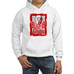 Hope Butterfly Oral Cancer Hooded Sweatshirt