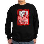 Hope Butterfly Oral Cancer Sweatshirt (dark)