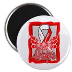 Hope Butterfly Oral Cancer Magnet