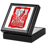 Hope Butterfly Oral Cancer Keepsake Box
