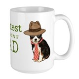 Long Coat Chihuahua Dad Coffee Mug