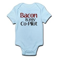 Bacon is my Co-Pilot Infant Bodysuit