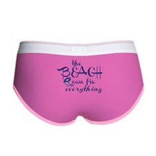 The Beach Can Fix Everything Women's Boy Brief