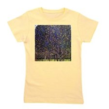 Gustav Klimt Pear Tree Girl's Tee
