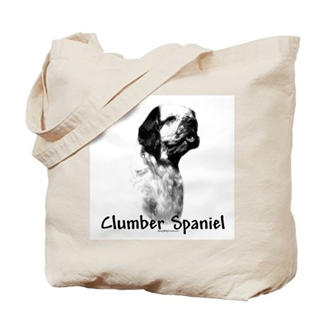 Clumber Spaniel Charcoal Tote Bag