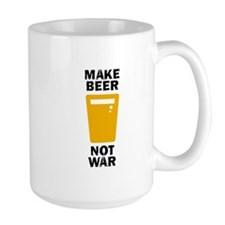 Make Beer Not War Mug