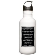 funeral proof 4 Water Bottle