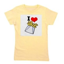 french fries.psd Girl's Tee