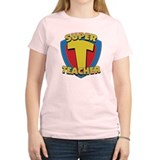 SuperTeacherDrkT2 T-Shirt