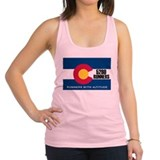 Cute Colorado Racerback Tank Top
