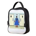 Confusing Signs Neoprene Lunch Bag