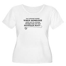 Egyptian Mau cat gifts T-Shirt