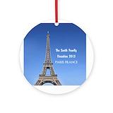 Paris Ornaments