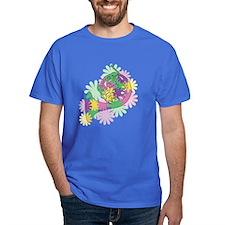 Flower Power Horn T-Shirt