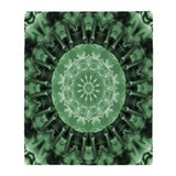 Minty M by Zarya Parx Studio Throw Blanket