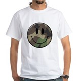 Camo Smiley Face T-Shirt