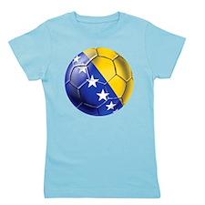 Bosnia Football Girl's Tee