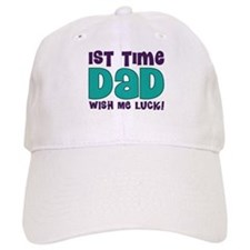 1st Time Dad Funny Baseball Cap