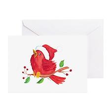 Baby Cardinal Greeting Cards (Pk of 10)