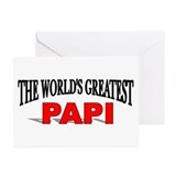 """The World's Greatest Papi"" Greeting Cards (Packag"