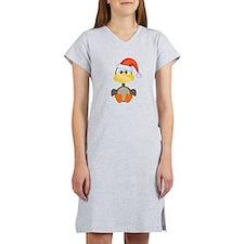 goose santa.png Women's Nightshirt