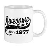 Awesome Since 1977 Mug
