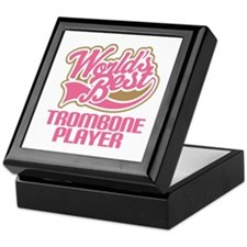 Worlds Best Trombone Player Keepsake Box