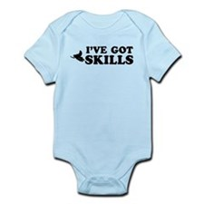 I've got Snowmobile skills Infant Bodysuit
