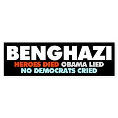 Benghazi: Heroes Died, Obama Lied, No Democrats Cr