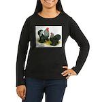 Birchen Cochins Women's Long Sleeve Dark T-Shirt