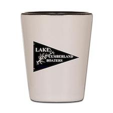 Lake Cumberland Boaters Pennant Shot Glass