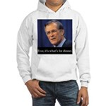 Rumsfeld/Fear Hooded Sweatshirt