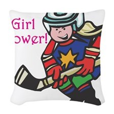 girl-power.png Woven Throw Pillow