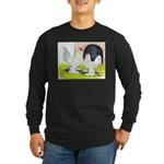 Porcelain d'Uccle Rooster and Long Sleeve Dark T-S