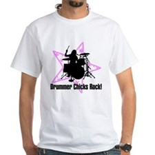 Drummer Chicks Rock Shirt