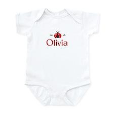 Red LadyBug - Olivia Infant Bodysuit