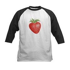 I Heart Strawberries Baseball Jersey