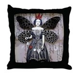 Collector Throw Pillow (Black)