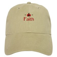 Red LadyBug - Faith Baseball Cap
