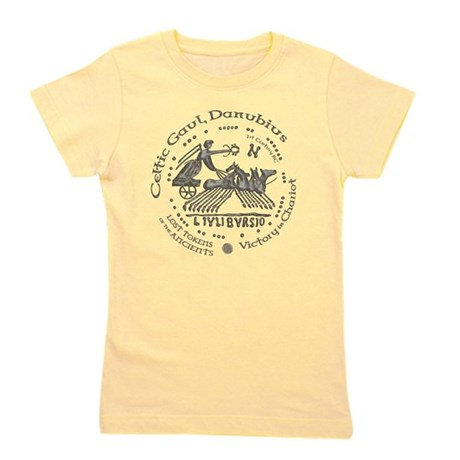 Celtic Victory Chariot Coin Girl's Tee